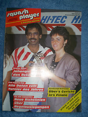 Squash player & Fitness - Journal Nr.5 Mai 1989