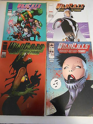 Lot de 04  Comics éditions Semic WILDC.A.T.S. 1997