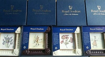 Royal Doulton Fine art collection from McQueen. Vase of Flowers.