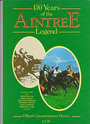 Official Commemorative  Review 150 Years Of The Aintree Legend - Perfect Cond.