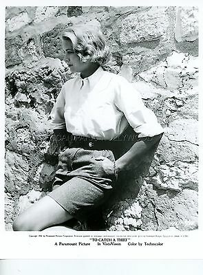 Grace Kelly Alfred Hitchcock To Catch A Thief 1955 Vintage Photo R70 #3