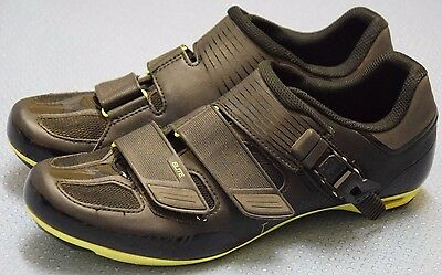 Specialized Elite Road Cycling Shoes Size 8 UK 42 EUR Black and Yellow
