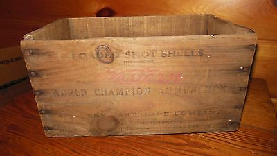 Vintage WESTERN SUPER X 20 GAUGE SHOTGUN SHELL BOX / ALTON, IL.