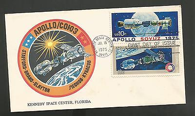 Apollo-Soyuz  Link-Up July 15, 1975 Kennedy Space Center