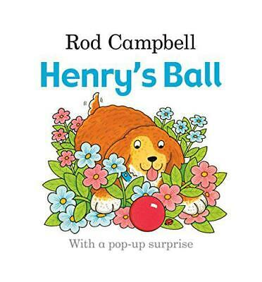 Henry's Ball, Campbell, Rod | Board book Book | 9780230770898 | NEW