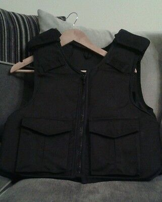 Ex Police Stab Vest Adjustable Radio Pockets Really Good Condition