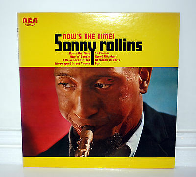 SONNY ROLLINS - NOWS THE TIME - VINYL LP JAPANESE ISSUE herbie hancock
