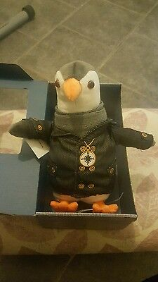 Rare Brand New Wilbur The Penguin British Gas Toy Limited Edition
