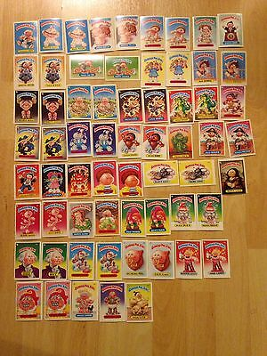 Garbage Pail Kids 1980's Cards / Stickers Series 2 Incomplete. Make An Offer