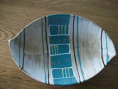 Vintage Mid Century Made In West Germany Modern Art Pottery Bowl