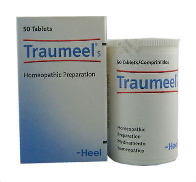 HEEL Traumeel S Homeopathic 50 tablets  Anti-Inflammatory Pain Relief Analgesic
