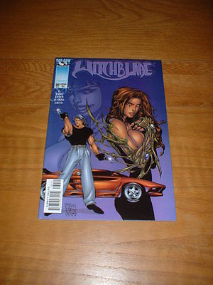 Witchblade 30. Apr 1999. Nm Cond. Wohl / Green / D-Tron. Image/top Cow