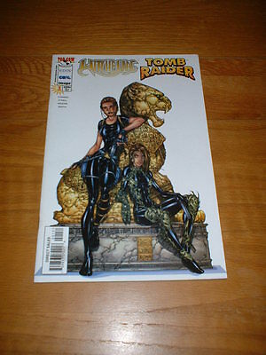 Witchblade / Tomb Raider Special 1. Dec 1998. Nm Cond. Top Cow.