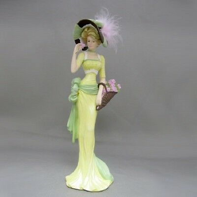 Flowers To Fill My Home Lady - Ladies of the Lamplight Figurine  Thomas Kinkade