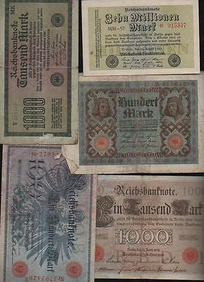 (a61643)   Reichsbankdirektorium 100 Mark 1908, 1000 Ma
