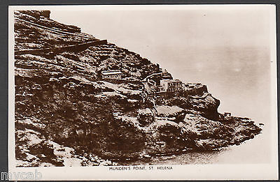 Postcard St Helena early view of Munden's Point old RP
