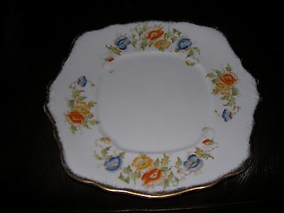 Royal Albert Crown China Eared Cake/bread & Butter Plate