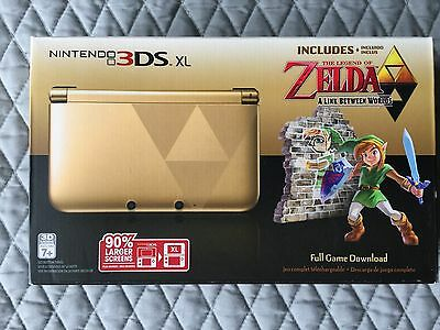 Nintendo 3DS XL (Latest Model)- The Legend of Zelda: A Link Between Worlds...