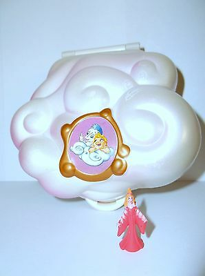 Vintage Polly Pocket Disney 1996 Hercules RARE compact & original Figure