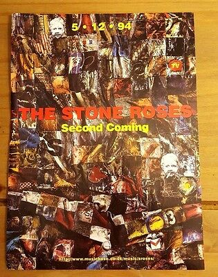 The Stone Roses 'second Coming' Magazine Press Advert/mini Poster Ad 1994