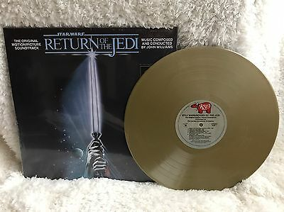 Star Wars Return Of The Jedi limited Edition Gold Vinyl