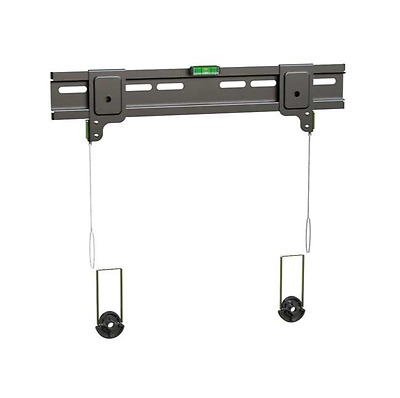 Ultra Slim Secure Tv Wall Mount Bracket Lcd Led 26'' to 47'' up to 35kgs