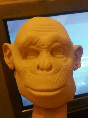 Rick baker s planet of the apes baby chimp head prop