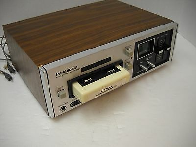 Vintage Panasonic Stereo Eight 8-Track Tape Player / Record Deck RS-805US Japan
