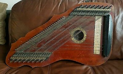 Rare Vintage Faudel Phillips & Sons patent 2299 Zither (DA)