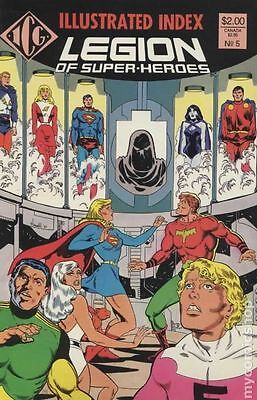 Legion of Super-Heroes Index (1986) Official #5 FN