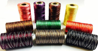 New 10 x Variegated Rayon 100% Embroidery Machine Thread all Spools Solid Colour