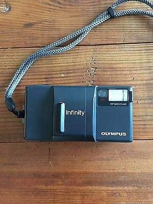 Olympus Infinity AF-1 Point & Shoot Camera. Tested and working.