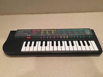 Radio Shack Concertmate 380 Portable Electronic Keyboard...MUST SEE!