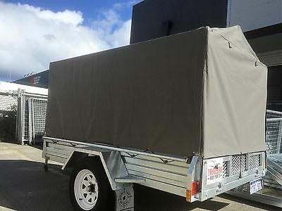 7x5 1000mm Heavy Duty Ripstop Canvas Trailer Cover