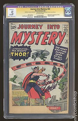 Thor ( 1st Series Journey Into Mystery) #83 CGC 0.5 RESTORED SS (1316534001)