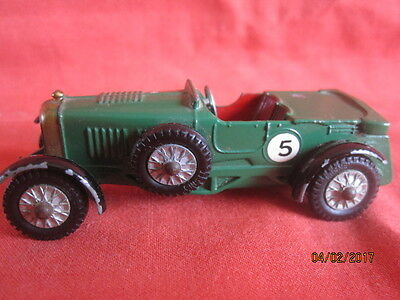 MATCHBOX  LESNEY  No  Y 5 - 1 C  1929 LE MANS BENTLEY  MODELS OF YESTERYEAR