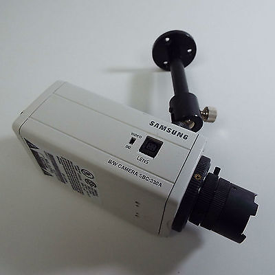 Sanyo B/w Ccd Security Camera Vcb-3374 4 Mm 1:1.2 Lens (T12)