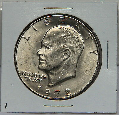 1972 D Eisenhower Dollar Coin - Ike Denver