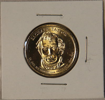 Zachary Taylor 2009 P Presidential Dollar Coin Uncirculated Philadelphia BU