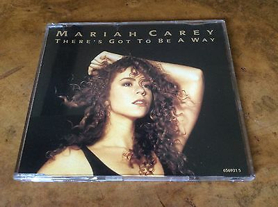 Mariah Carey - There's Got To Be A Way -UK 1991 4trk Picture Disc CD Single.RARE