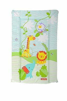 Fisher Price Waterproof Soft Padded Baby Changing Mat Rainforest Toddler/Baby