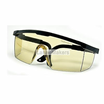 OD5+ Protection Goggles for 10600nm Laser Module 10.6um CO2 w/ Box CE Glasses
