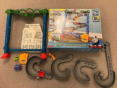 Thomas And Friends Take N Play Spills & Thrills On Sodor Playset FULL SET