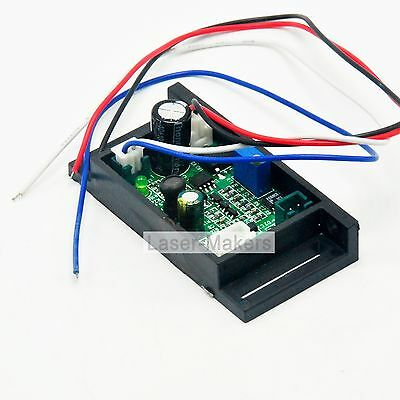 12V Power Supply Driver Board for 450nm 50-800mW Blue Laser Diode Moudle w/ TTL