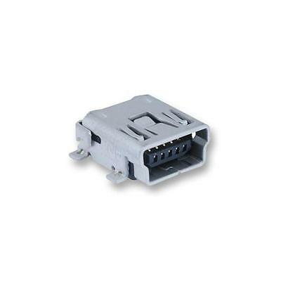 Ga28430 Multicomp - Mc32598 - Socket, Mini Usb, Pcb, Type Ab, Smt