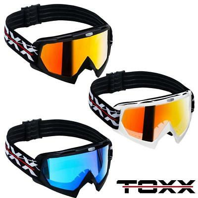 Toxx Crossbrille Motocross Brille Goggle Cross Mtb Quad Atv Offroad Downhill Sx