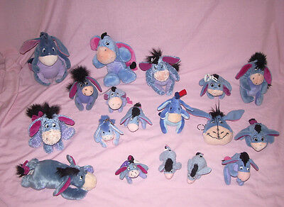 Collection de peluches Bourriquet monde de winnie porteclef porte monnaie disney