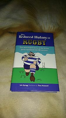 The Reduced History of Rugby Hardback Book.