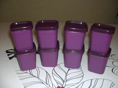 8 Ramequins MicroGourmet violet Tupperware cuisson vapeur micro-ondes MicroVap