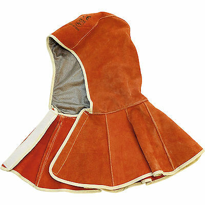 Sealey Heavy Duty Leather Welding Safety Hood with Kevlar Stitching
